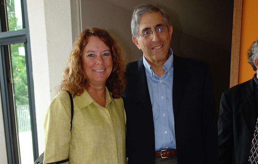 A photo of Mark S. Weil and Joan Hall-Weil