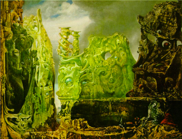 """New Perspectives Talk--A Visual Breakdown: Confronting the Strange in Max Ernst's """"L'oeil du Silence"""" (""""Eye of Silence"""")"""